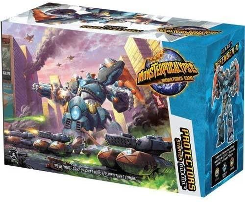 Monsterpocalypse Protectors Starter Set 1(resin)