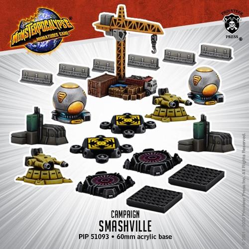 Monsterpocalypse Smashville – Campaign Product (mixed)