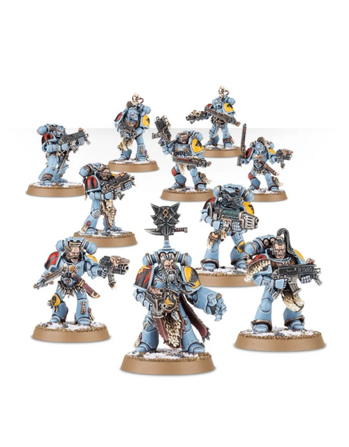 SPACE WOLVES GREY HUNTERS