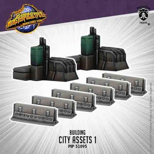 Monsterpocalypse: City Assets 1 (metal)