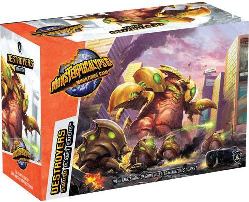 Monsterpocalypse Destroyers Starter Set 1(resin)