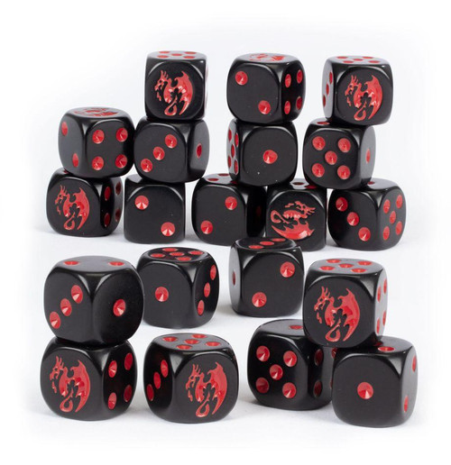 AGE OF SIGMAR SOULBLIGHT GRAVELORDS DICE