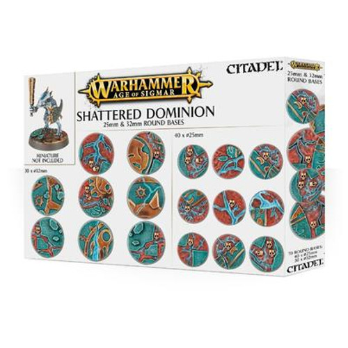 AGE OF SIGMAR SHATTERED DOMINION 25 & 32MM ROUND