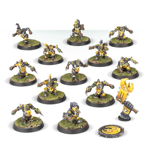 BLOOD BOWL THE SCARCRAG SNIVELLERS GOBLIN TEAM