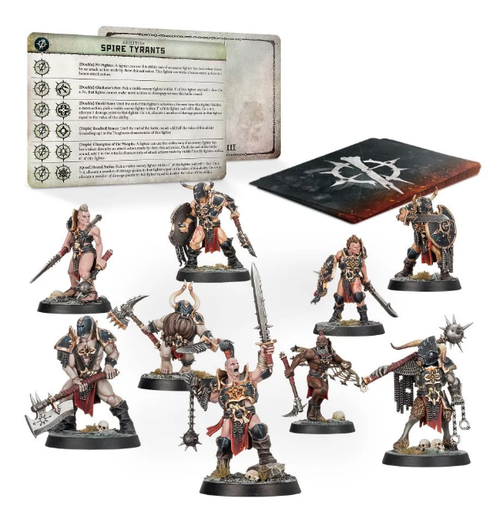 WARCRY SPIRE TYRANTS