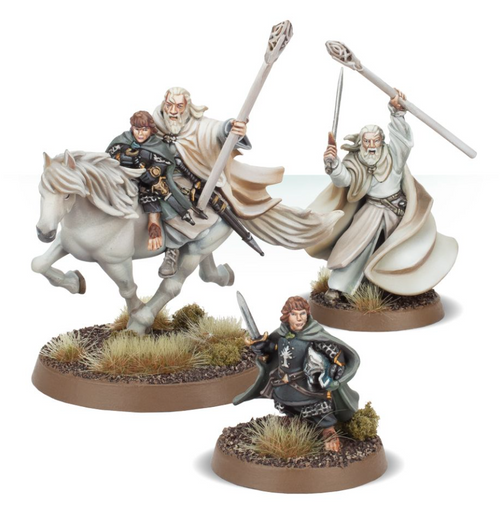 THE LORD OF THE RINGS: GANDALF THE WHITE & PEREGRIN TOOK