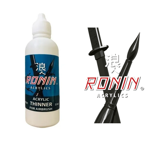 RONIN ACRYLIC THINNER FOR AIRBRUSH  55 ml.