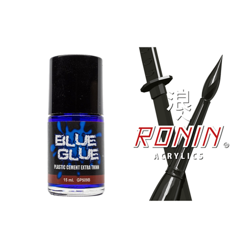 RONIN PLASTIC CEMENT EXTRA THIN (BLUE)