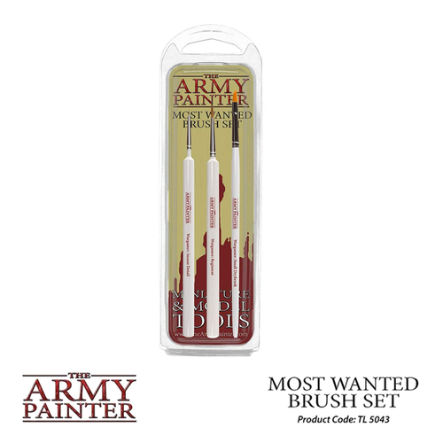 The Army Painter: Most Wanted Brush Set