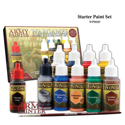 The Army Painter: Warpaints Starter Paint Set