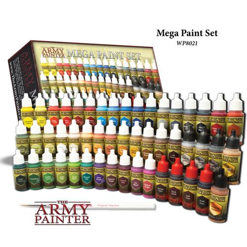 The Army Painter: Warpaints Mega Paint Set III