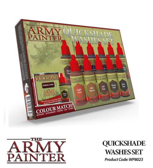 The Army Painter: Warpaints Washes Paint Set