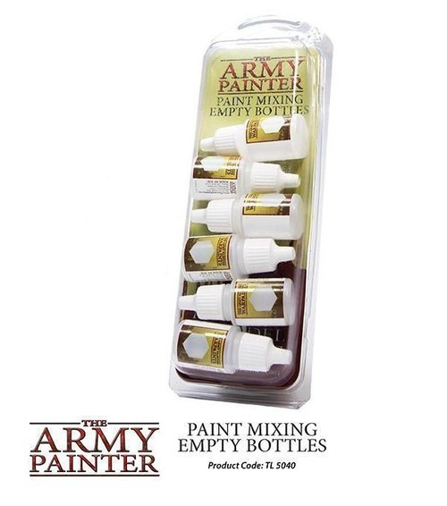 The Army Painter: Paint Mixing Empty Bottles