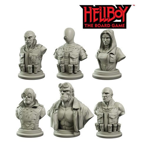 Hellboy: Collector's Bust Set
