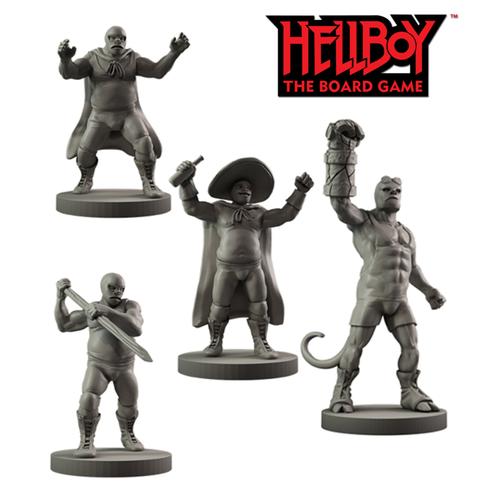 Hellboy: Resin Hellboy in Mexico Agents