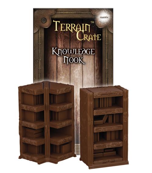 TerrainCrate: Knowledge nook
