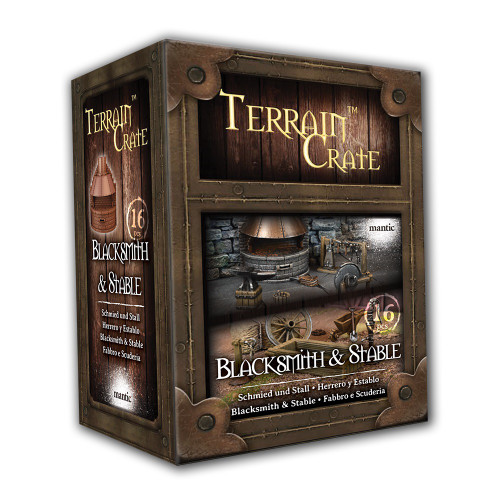 TerrainCrate: Blacksmith & Stable