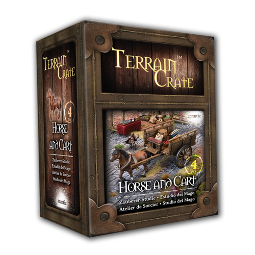 TerrainCrate: Horse and Cart