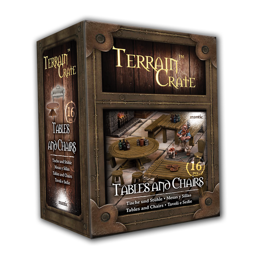 TerrainCrate: Tables and Chairs