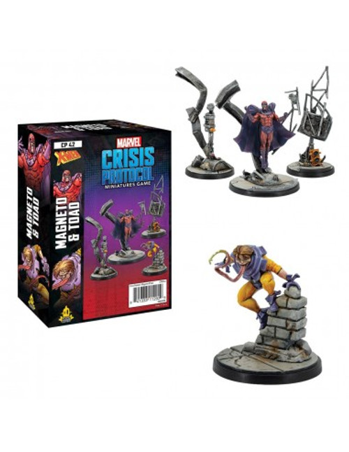 Marvel Crisis Protocol:  Magneto & Toad Pack