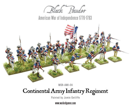 American War of Independence Continental Infantry Regiment