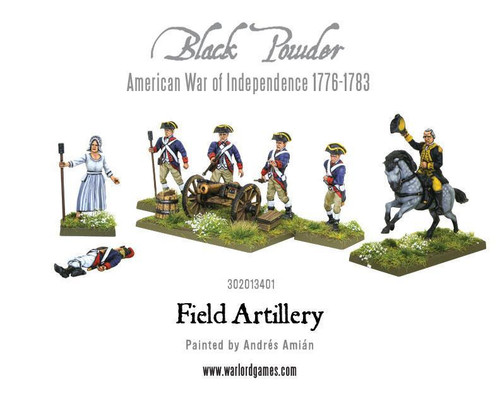 American War of Independence Field Artillery and Army Commanders