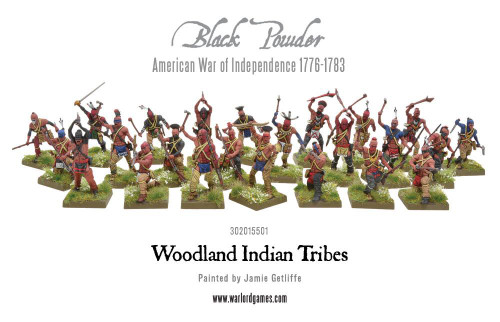 American War of Independence Woodland Indian Tribes