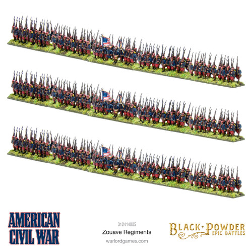 Epic Battles: American Civil War Zouaves
