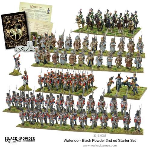 Black Powder Waterloo 2nd edition Starter Set