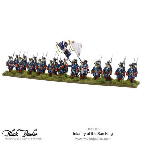 Marlborough's Wars Infantry of the Sun King