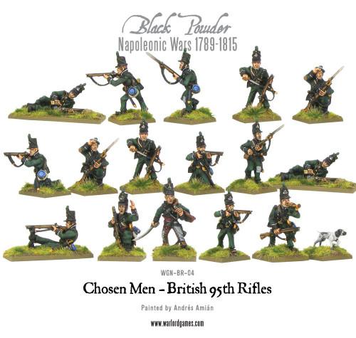 Napoleonic Wars: British 95th Rifles (Chosen Men)