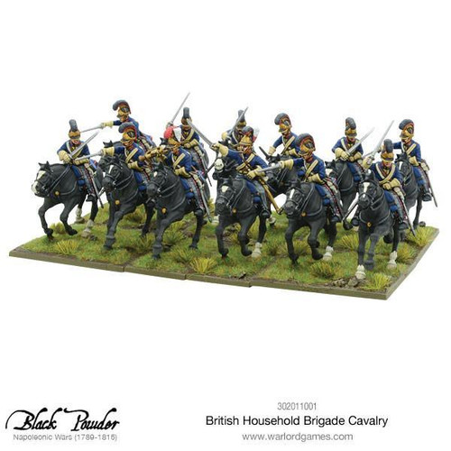 Napoleonic Wars: British Household Brigade Cavalry
