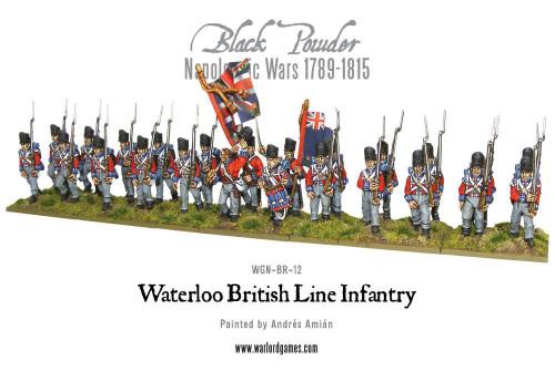 Napoleonic Wars: British Line Infantry (Waterloo)
