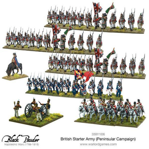 Napoleonic Wars: Napoleonic British starter army (Peninsular campaign)