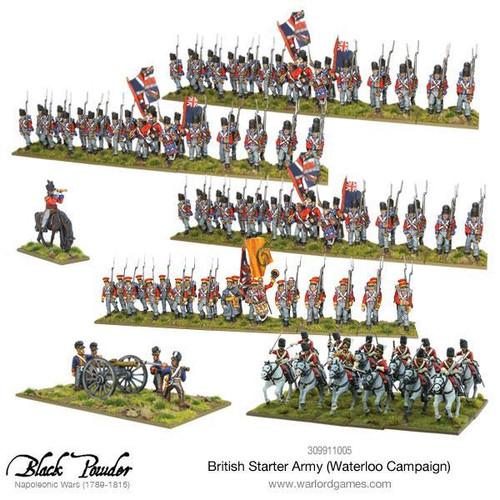 Napoleonic Wars: Napoleonic British starter army (Waterloo campaign)