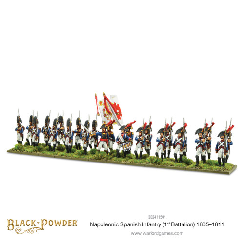 Napoleonic Wars: Napoleonic Spanish Infantry (1st Battalion) 1805-1811