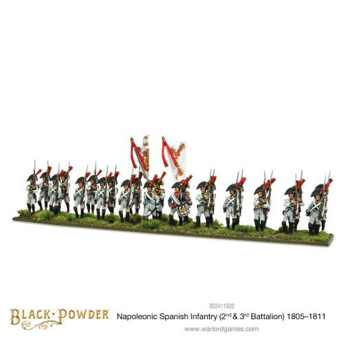 Napoleonic Wars: Napoleonic Spanish Infantry (2nd & 3rd Battalions) 1805-1811