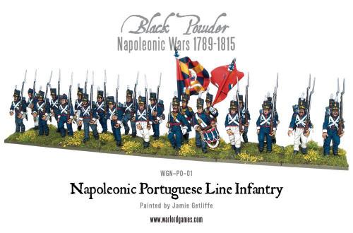 Napoleonic Wars: Portugese Line Infantry