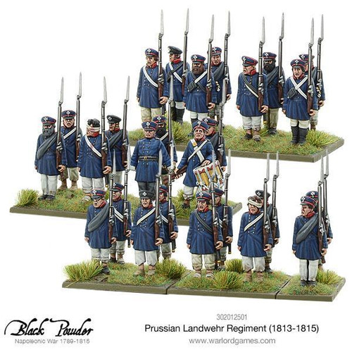 Napoleonic Wars: Prussian Landwehr Regiment 1813-1815