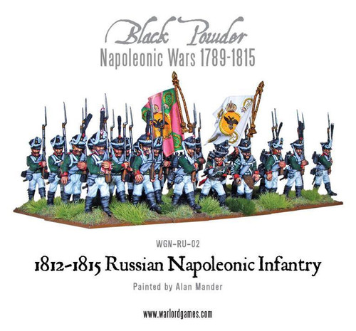Napoleonic Wars: Late Russian Line Infantry 1812-1815