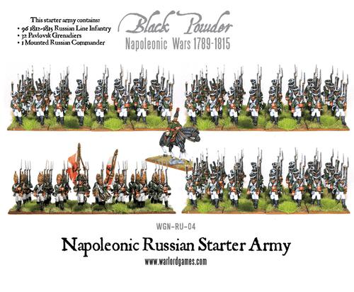 Napoleonic Wars: Napoleonic Russian Starter Army