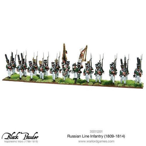 Napoleonic Wars: Russian Line Infantry 1809-1814