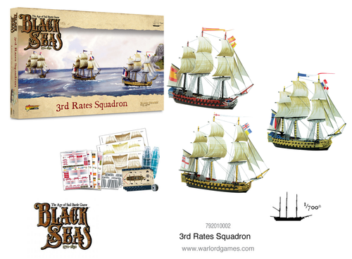 Black Seas 3rd Rates Squadron (1770 - 1830)
