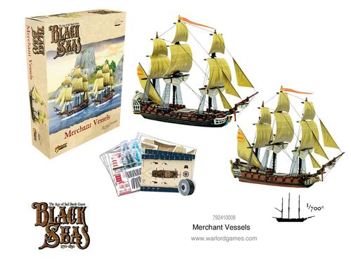 Black Seas Merchant Vessels