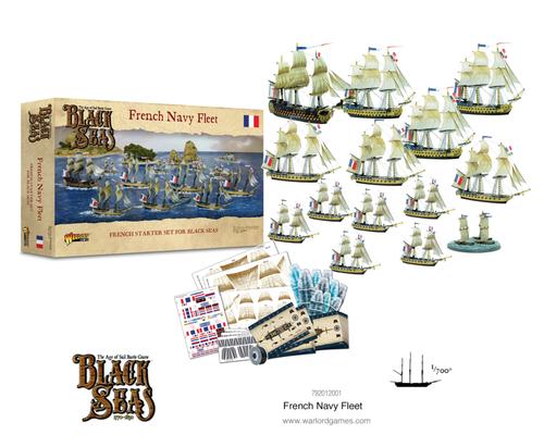 Black Seas French Navy Fleet (1770 - 1830)