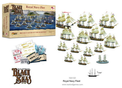 Black Seas Royal Navy Fleet (1770 - 1830)