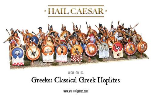 Hail Caesar Classical Greek Phalanx