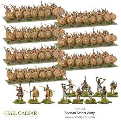 Hail Caesar Spartan Starter Army