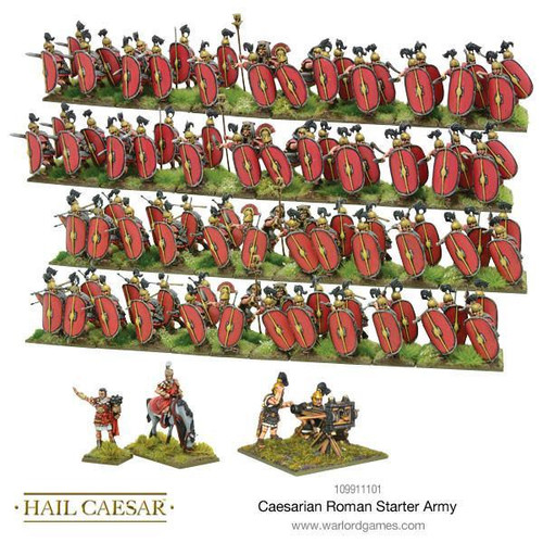 Hail Caesar Caesarian Roman Starter Army