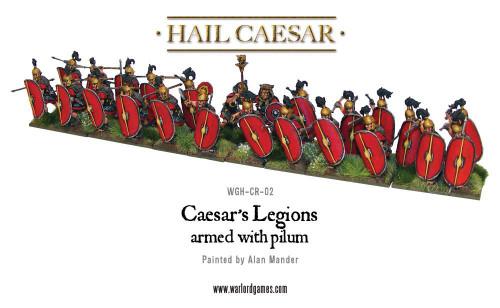 Hail Caesar Caesarian Romans with Pilum